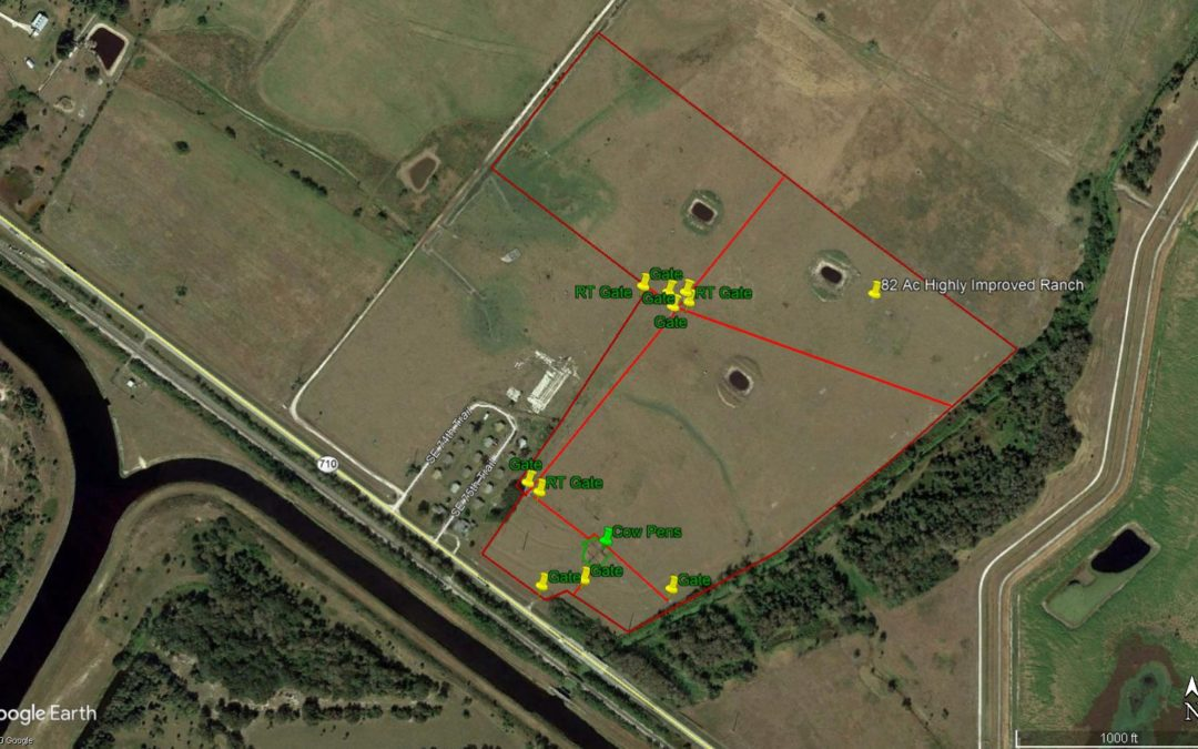 Highly Improved Ranch in SE Okeechobee Co.